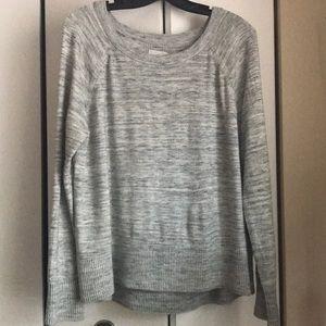 LOFT Lou & Grey space-dye sweater